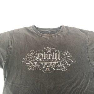 black o'neil oversized shirt